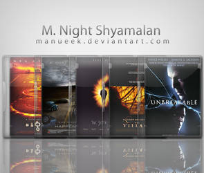 M. Night Shyamalan Icon Set by manueek