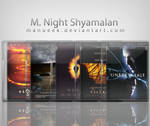 M. Night Shyamalan Icon Set