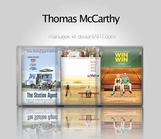 Thomas McCarthy Icon Set by manueek