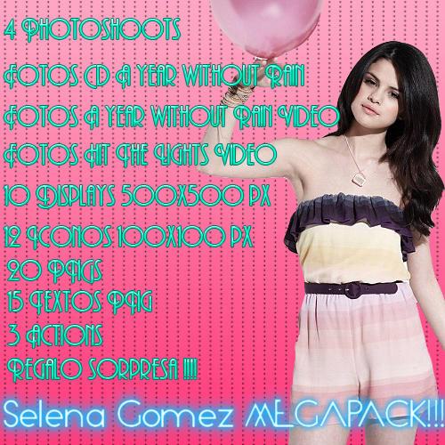 MEGAPACK Selena Gomez by justjonasswiftlovato