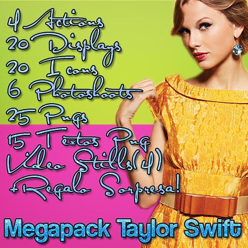 Taylor Swift MEGAPACK by justjonasswiftlovato