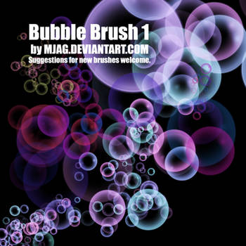 Brushes: BUBBLE 1 by Mjag