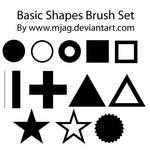 brushes: basic shapes