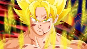 [gif] Goku+fond+aura Gif 120