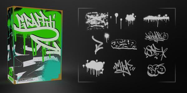 21 Awesome Graffiti Brushes by MediaMilitia on DeviantArt