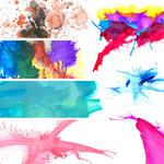 Watercolors Texture Pack