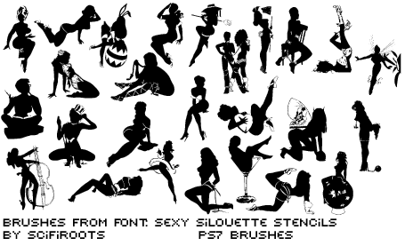 Sexy Sillouettes by scifiroots