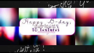 'Happy b-day Aerilex!' icon sized textures by blackcatme