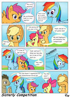 MLP:FIM - Sisterly Competition by MultiTAZker