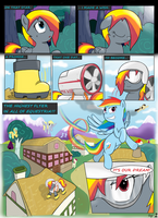MLP FIM STARS Chapter-1 Dreams Page-2 by MultiTAZker