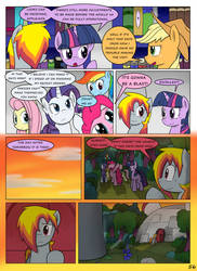 MLP FIM STARS Chapter-4 Stickers Page-56 by MultiTAZker