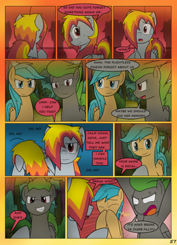 MLP FIM STARS Chapter-4 Stickers Page-57