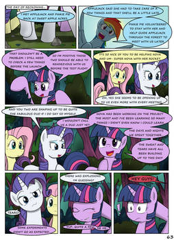 MLP FIM STARS Chapter-4 Stickers Page-63