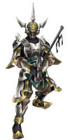 Kingdom Hearts Master Eraqus Armor Model