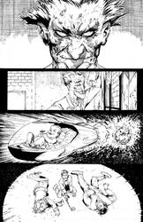 Batman Arkham Knight Ink Sample Chapter 4 page 3