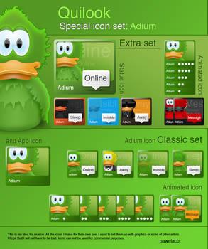 Quilook - Adium icon set