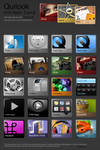 Quilook - 3 set apps icons