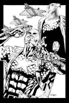Captain America Digital Inks for BonesDeviant v1