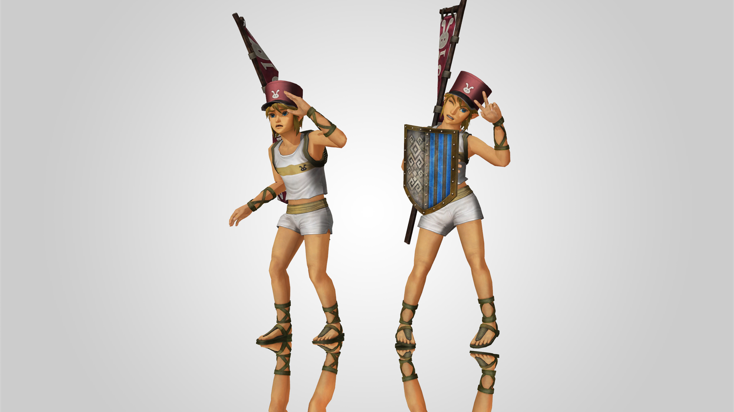 MMD Link Postman Hyrule Warriors DL !!!! by Philippe-N-12 ...