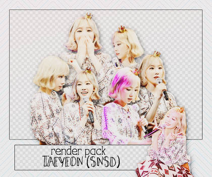 PACK PNG TAEYEON @160308 B-DAY PARTY