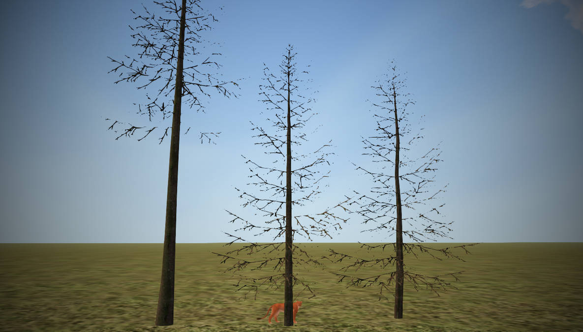 Realistic Dead Fir Trees (FH) by Dirty-Couch