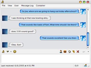 iChat for MirandaIM by PowerProductions