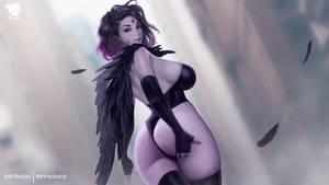 Raven  Animation Preview(May 2021 Patreon bonus)