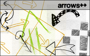 Arrow Brushes by pookahpie
