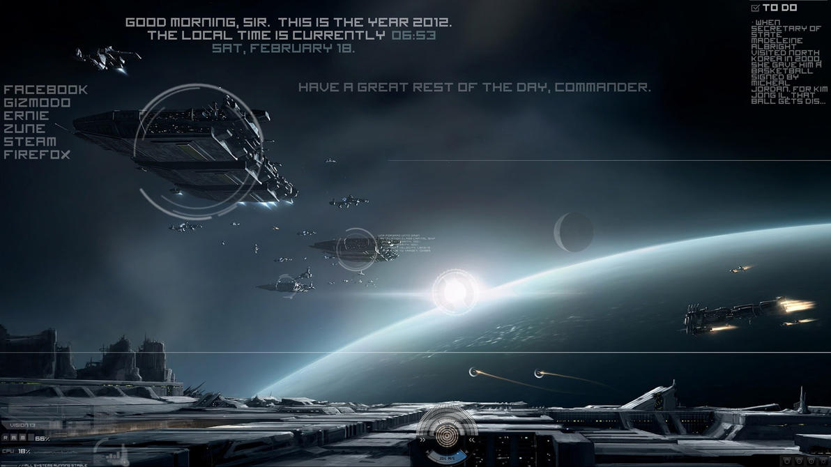 eve online theme (now in 1920x1080 and 1366x768)thyself on