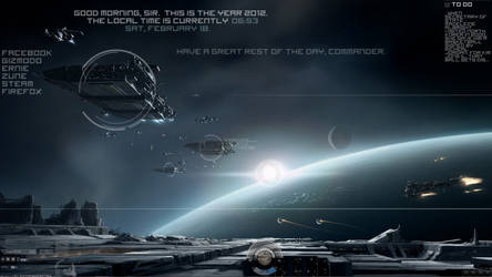 EVE Online Theme (NOW IN 1920x1080 AND 1366x768) by Thyself