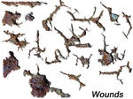 Wounds - transparent gifs