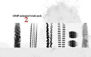 GIMP animated brush pack 2 by griffeur