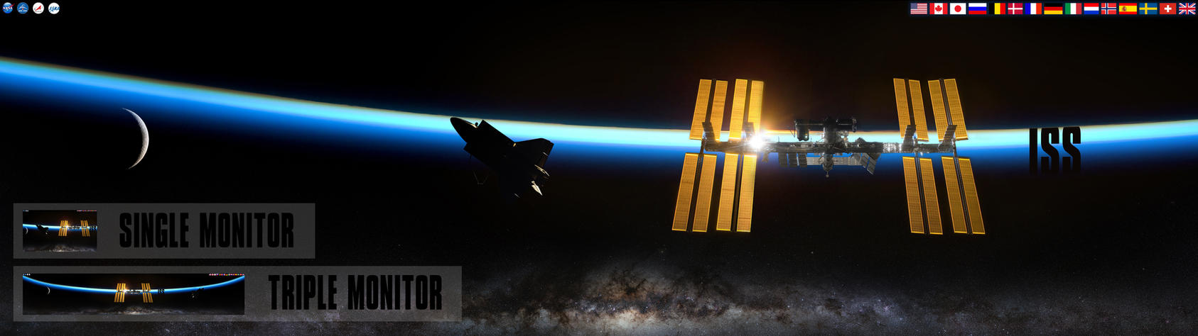 Nasa iss international space station wallpaper by - Wallpaper iss ...