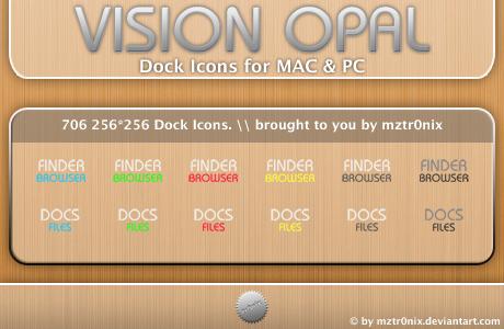 vision opal +Big Pack+ by mztr0nix