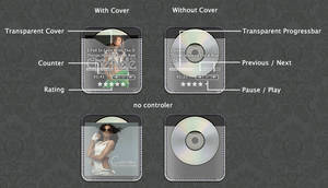 Cd Cover DROP POCKET by mztr0nix