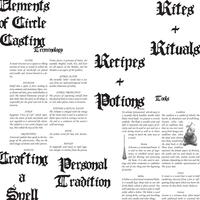 Printable Book of Shadows [Update #1] by VairaSmythe