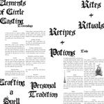Printable Book of Shadows [Update #1]