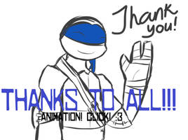 THANK YOU! =) .Animation. by KatanaBerry