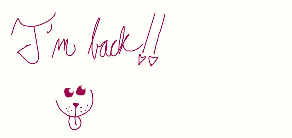 I'm back! by PrincessCadencePony
