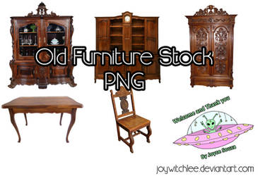 Old Furniture Stock PNG