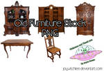 Old Furniture Stock PNG by JoyWitchLee