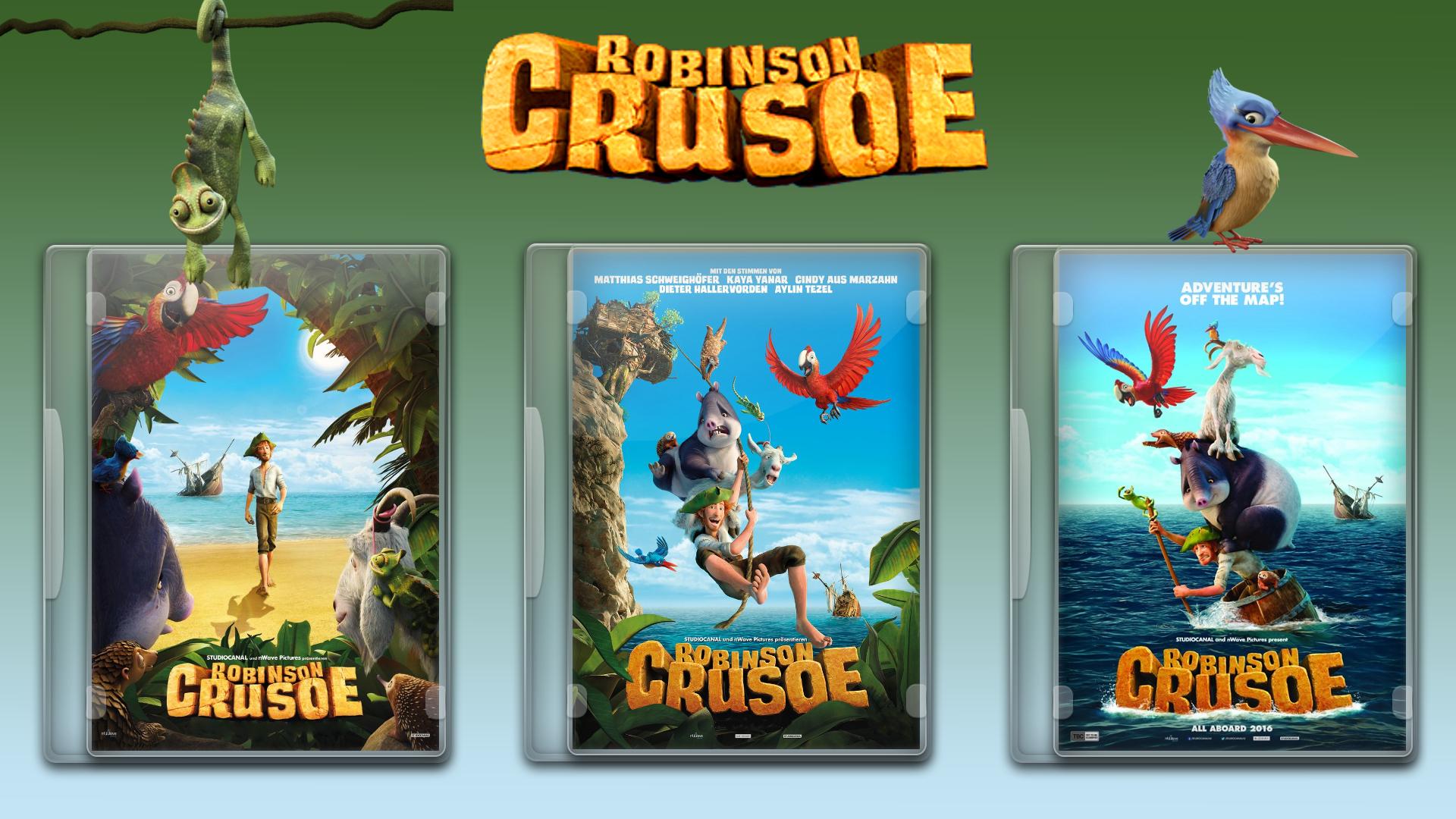 Robinson Crusoe 2016 Dvd Cover