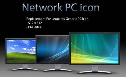 Generic network PC icon