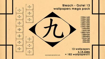 Bleach Gotei 13 mega pack by koelo