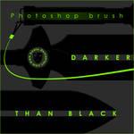 Darker Than Black brush