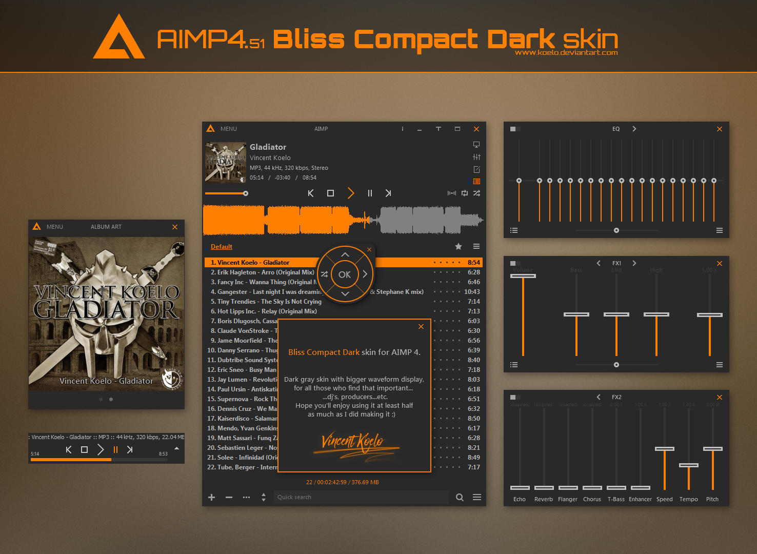 Bliss Compact Dark by koelo