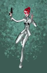 Agent Huggins - Sentinels by RichBernatovech
