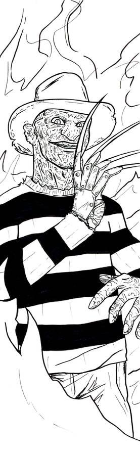 Freddy Krueger Art Inks