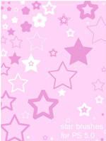 5 Point Star Photoshop Brushes by iiberukitii