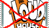 Anti The Loud House stamp by TheCartoonWizard